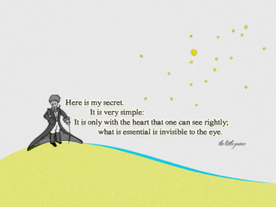 the little prince quote by geekyspaz d314eqb e1634523491122